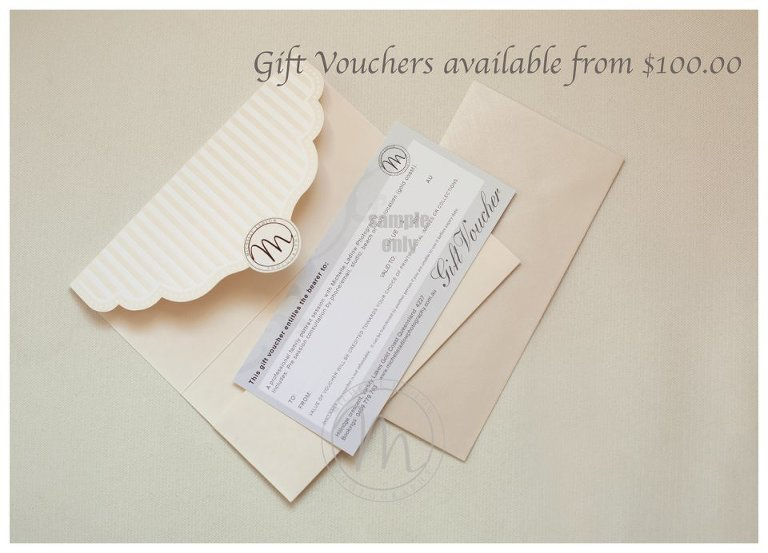 Gift voucher example - Michelle Ladlow Photography